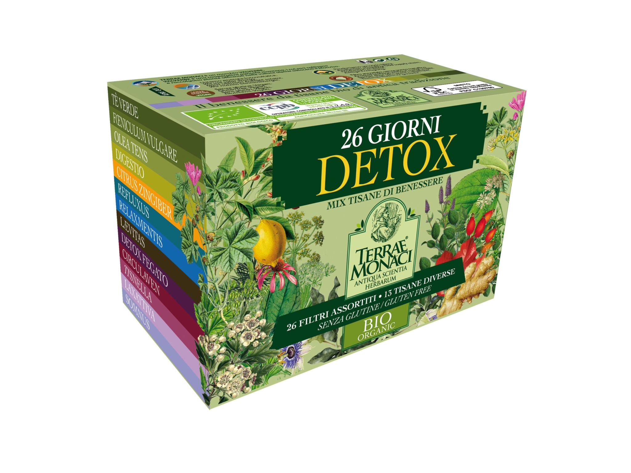tisana detox mattina o sera zucchine fibre