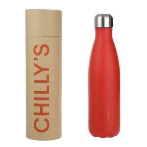 chillys thermos rosso red valverbe