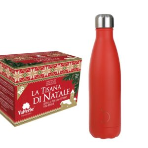 tisana di natale valverbe e thermos chillys red