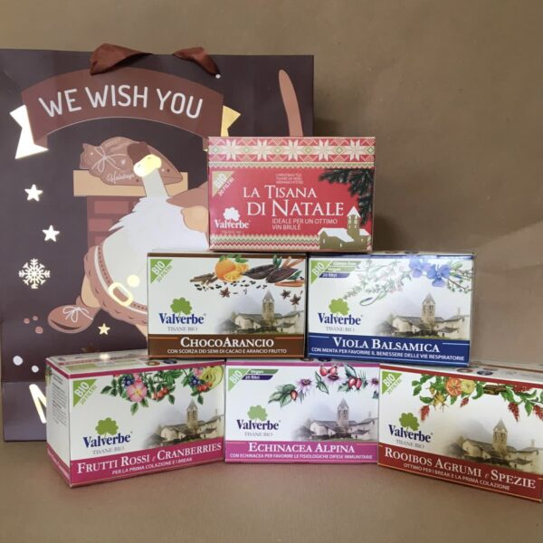tisane pacco regalo mix 6 pcs